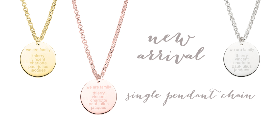 single pendant chain