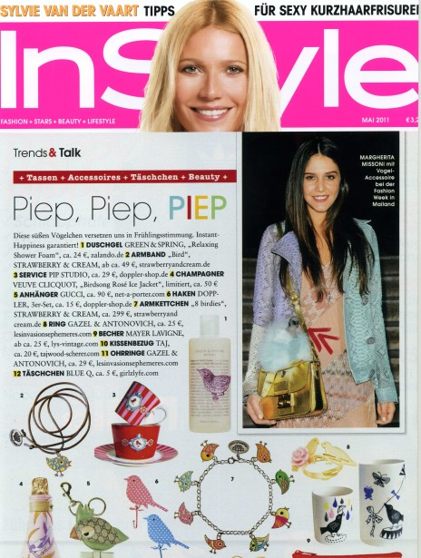 instyle mai 2011_birdy collection_armband und kette